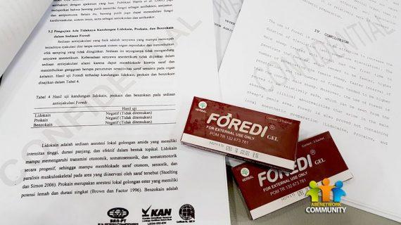 Apakah Foredi Gel Aman ?? Bukti Foredi Gel Aman Banget…FOREDI di uji PRA KLINIS oleh Tim Peneliti dari Universitas Di Bogor